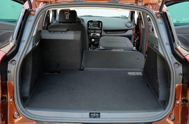 Renault Clio IV - bagażnik kombi