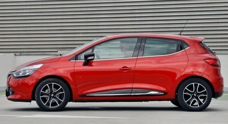 Renault Clio IV - bok