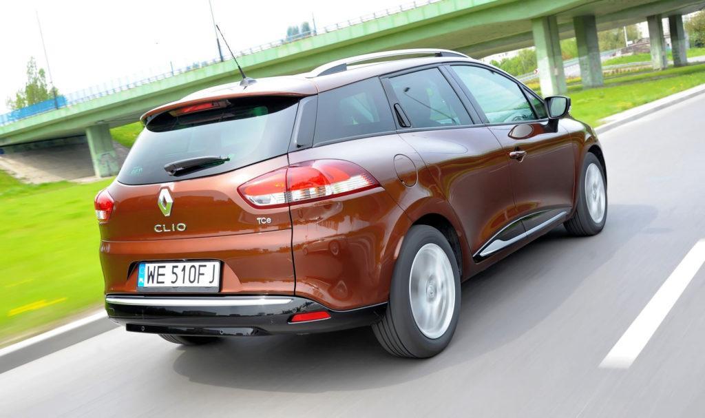 Renault Clio IV - dynamiczne