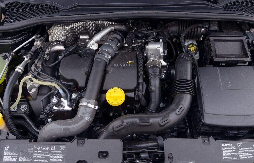 Renault Clio IV silnik