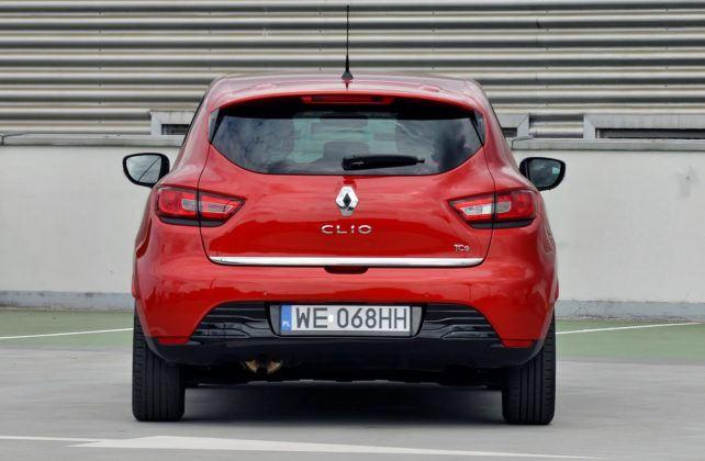 Renault Clio IV - tył