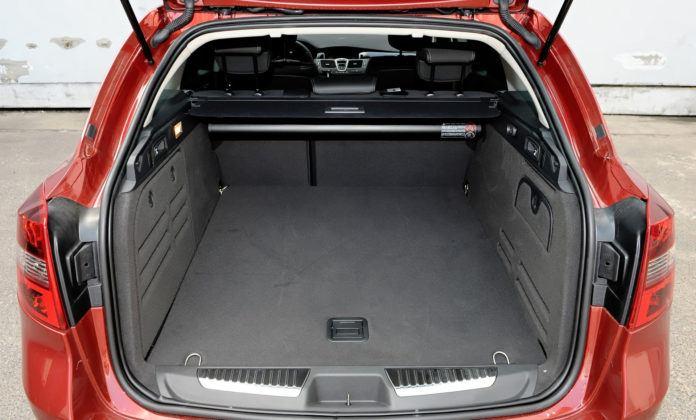Renault Laguna III - bagażnik
