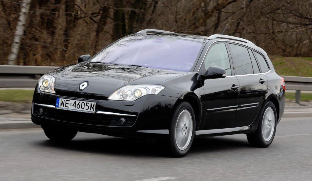Renault Laguna III - dynamiczne