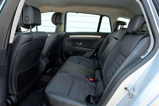 Renault Laguna III - kanapa