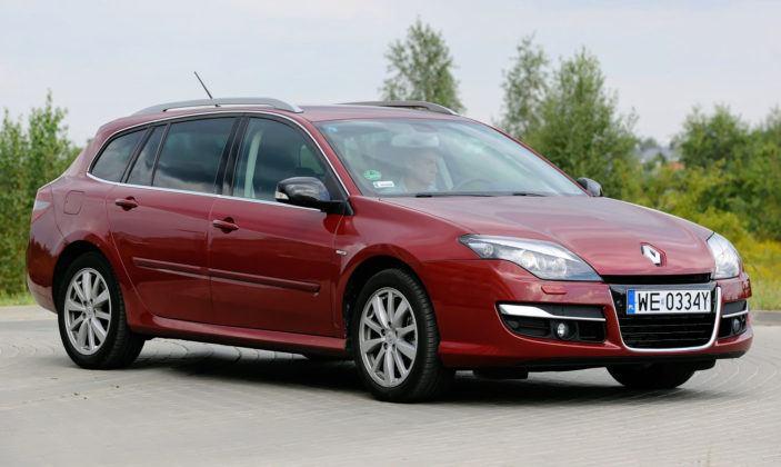 Renault Laguna III - przód