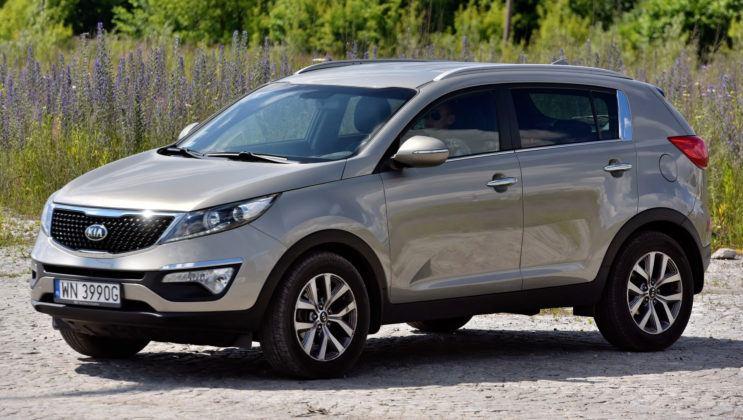 SUVy - Kia Sportage