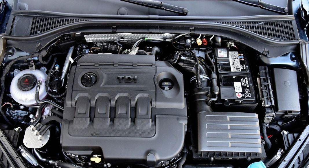 Skoda Superb Combi 2.0 TDI - silnik