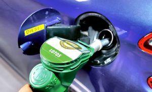 Tankowanie benzyny do diesla