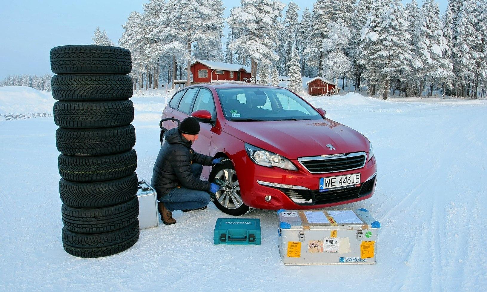 Test Opon Zimowych 17565 R14 W Rankingu Zimówek Adac Dębica Przed