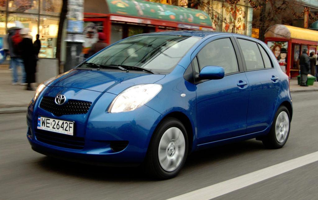 Toyota Yaris II - dynamiczne
