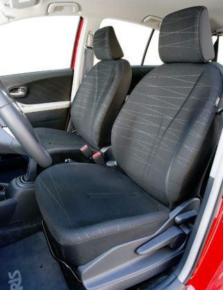 Toyota Yaris II - fotel kierowcy