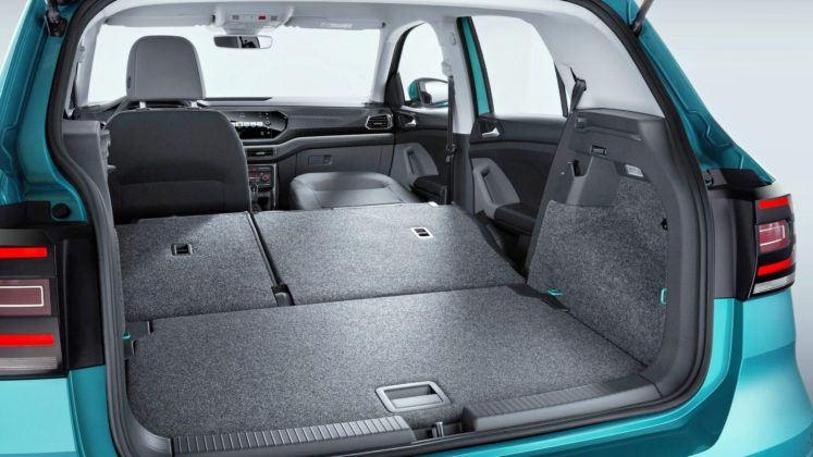 Volkswagen T-Cross - bagażnik