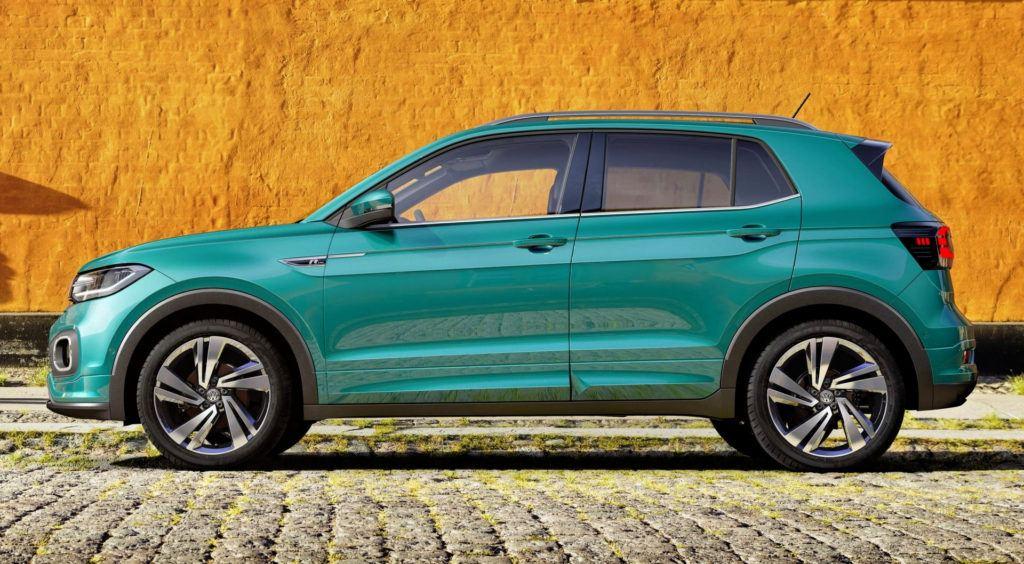 Volkswagen T-Cross - bok