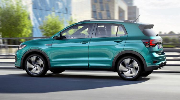 Volkswagen T-Cross - dynamiczne
