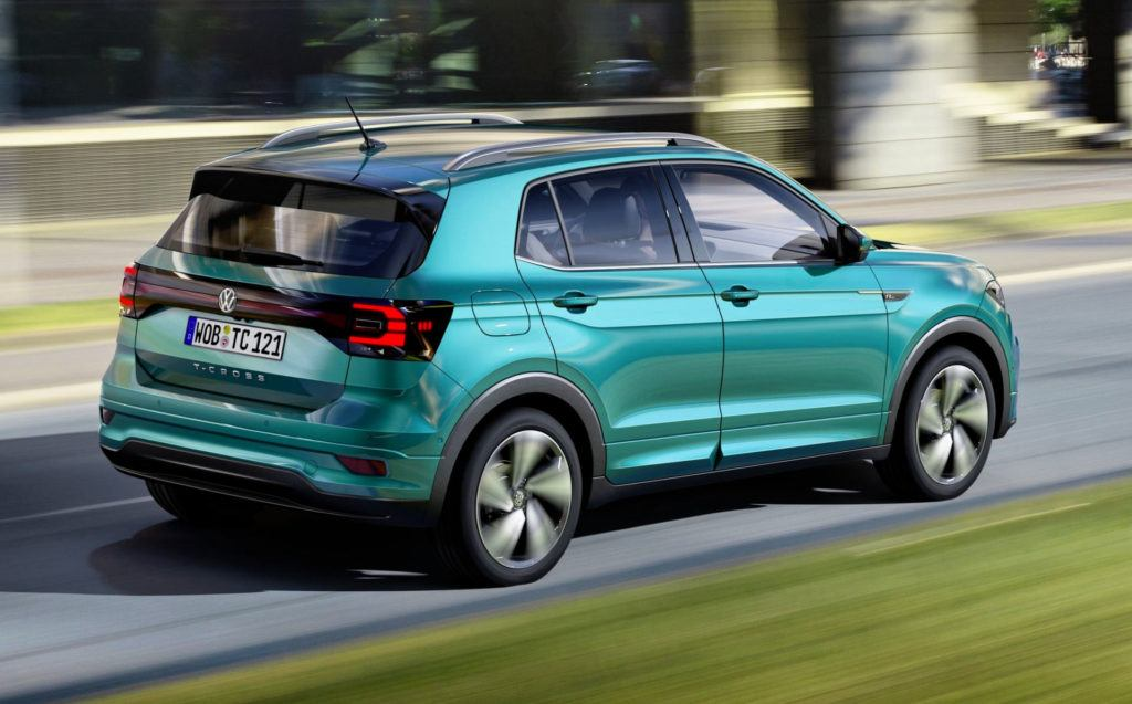Volkswagen T-Cross - tył