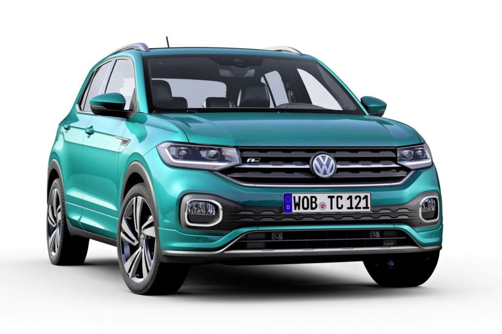 Volkswagen T-Cross - przód
