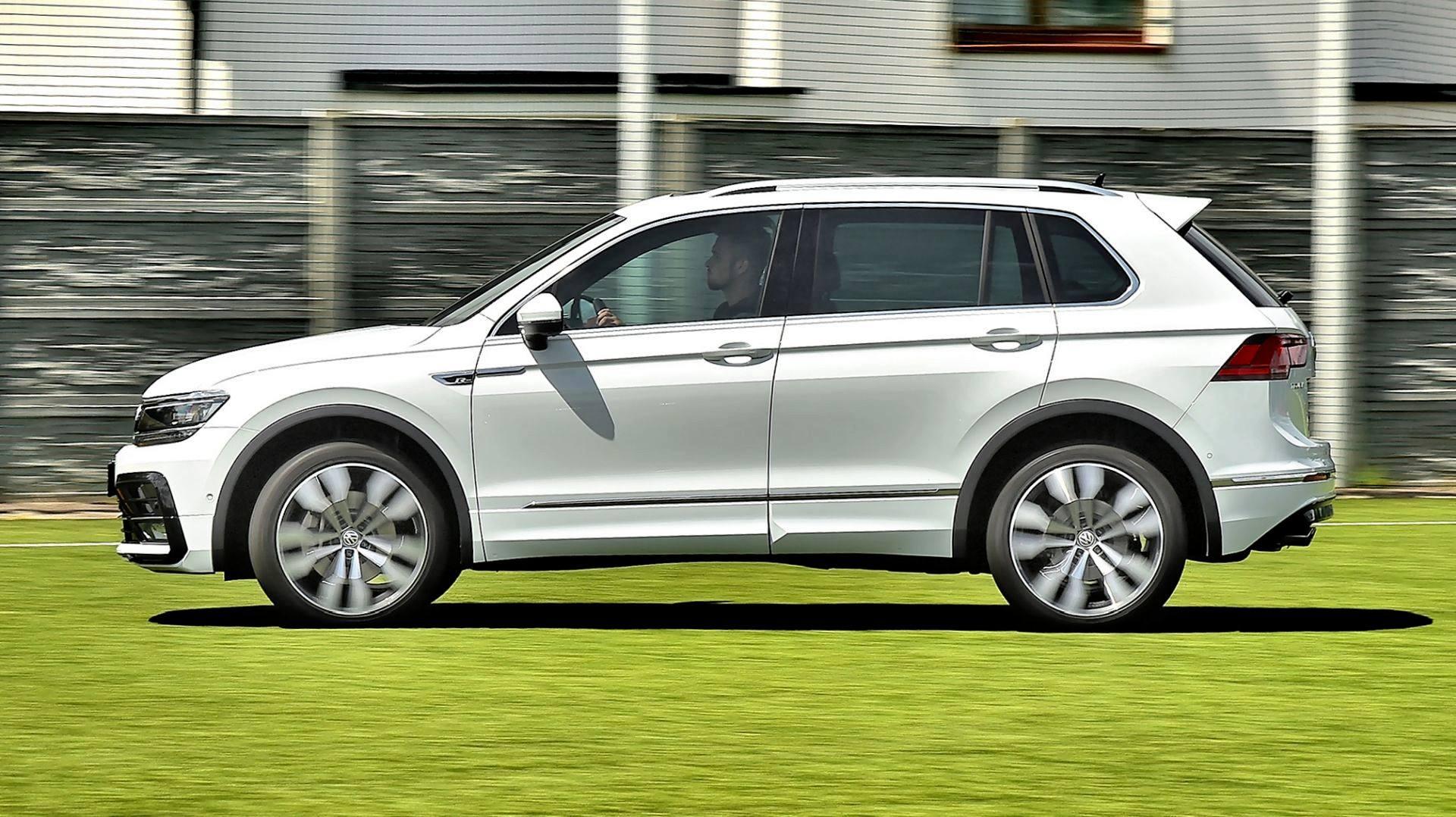 Volkswagen Tiguan - dynamiczne