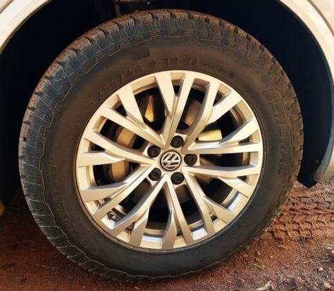 Volkswagen Touareg - opony