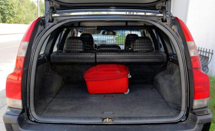 Volvo V70 - bagażnik