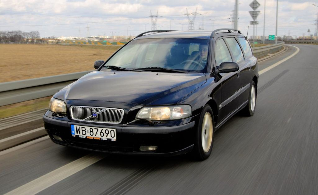 Volvo V70 - dynamiczne