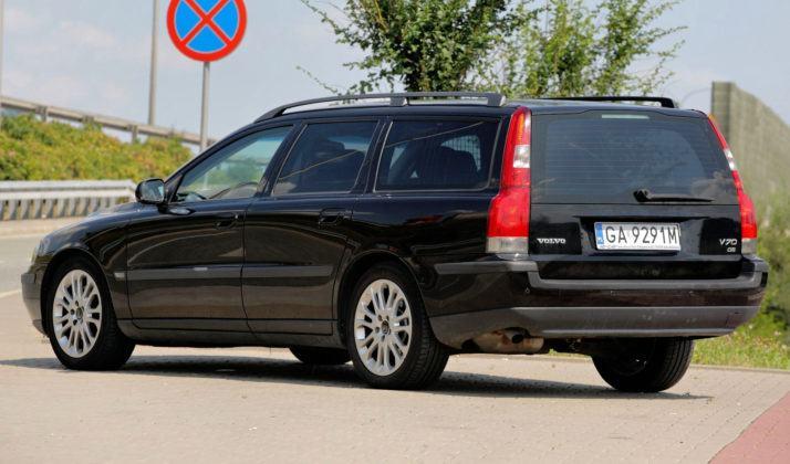 Volvo V70 - tył