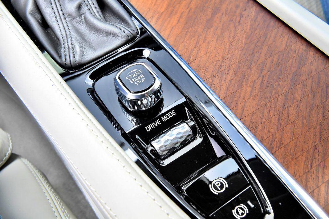 Volvo XC90 D5 - przyciski