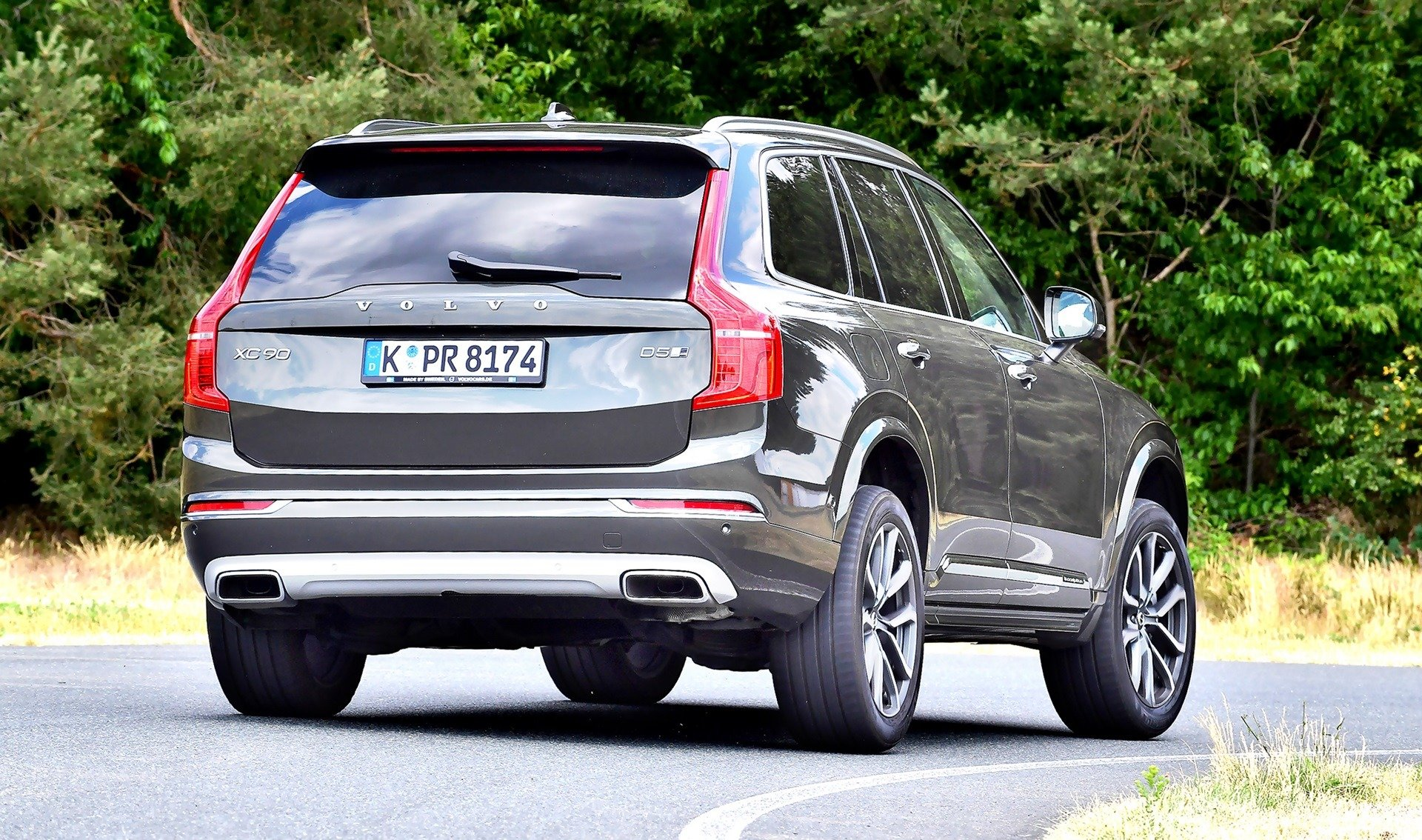 Volvo XC90 D5 - zakret