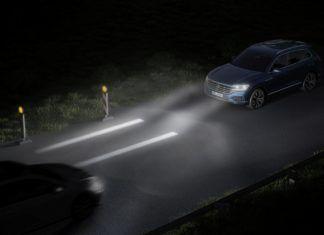 Interaktywne światła w nowych Volkswagenach
