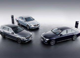 Trzy nowe hybrydy plug-in Mercedesa