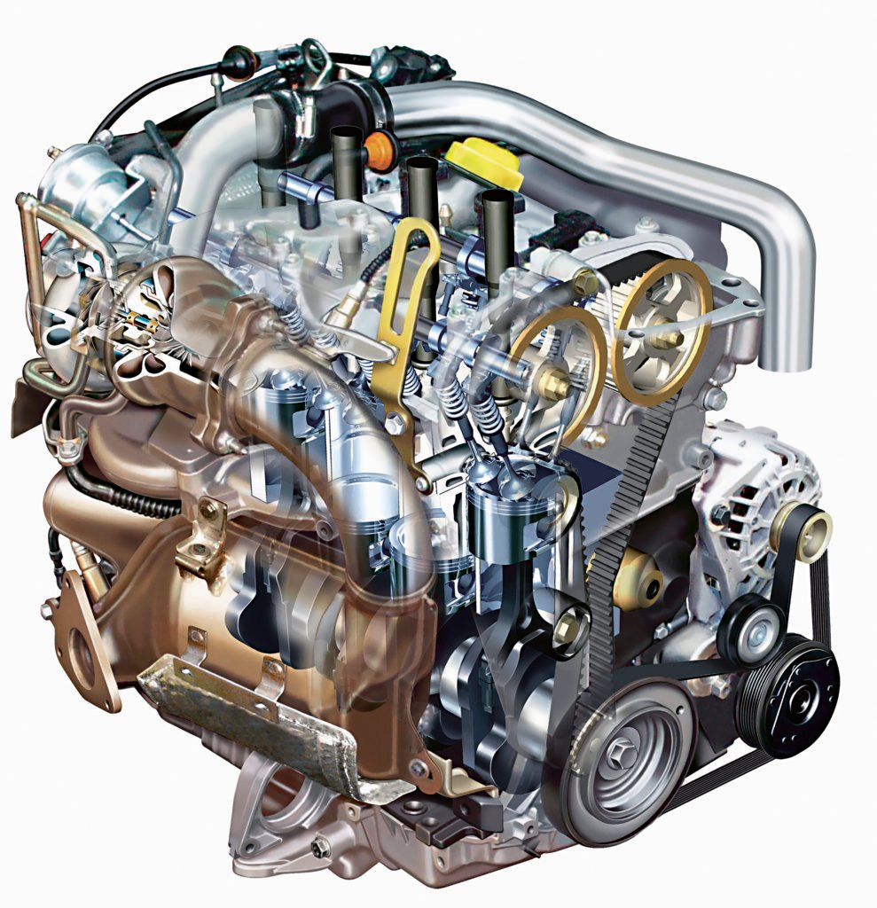 Silnik Renault 2.0 Turbo