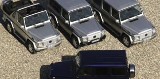 14 terenowych Mercedesów - otwierające