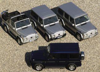 Najciekawsze auta terenowe i SUV-y Mercedesa