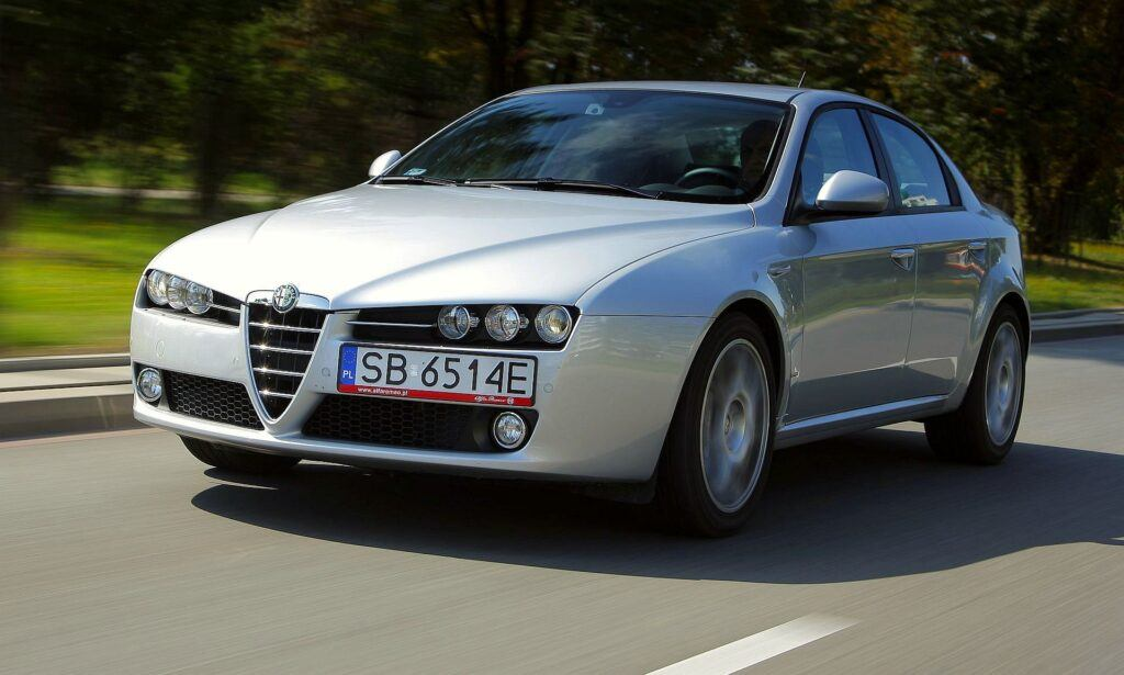 ALFA ROMEO 159 1.75TBi 200KM 6MT SB6514E 04-2010