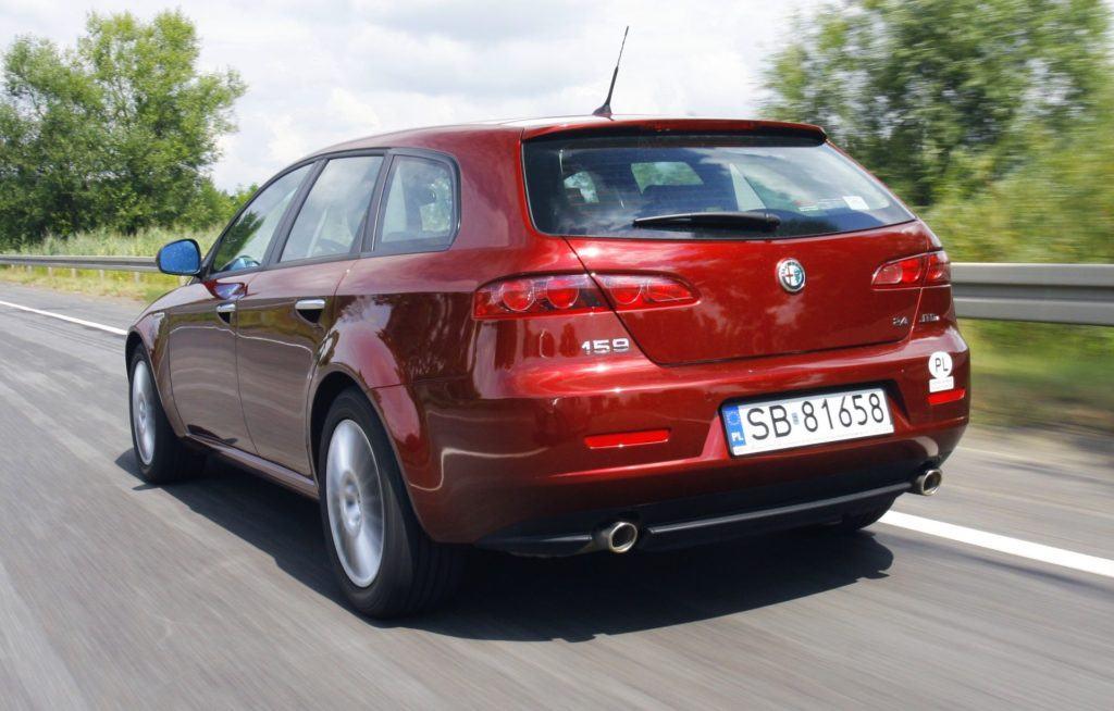 Alfa Romeo 159 - dynamiczne