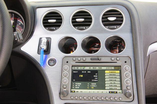 Alfa Romeo 159 - konsola środkowa