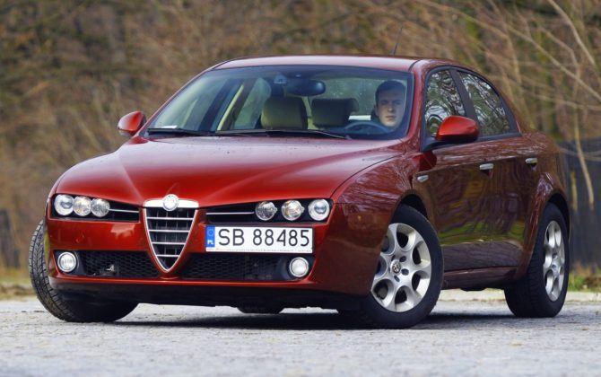 Alfa Romeo 159 - przód