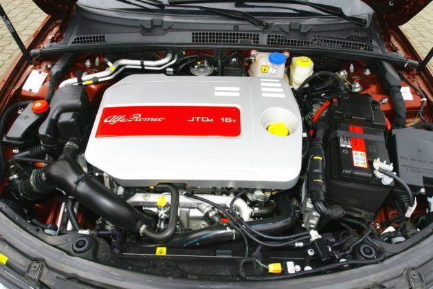 Alfa Romeo 159 - silnik JTDm