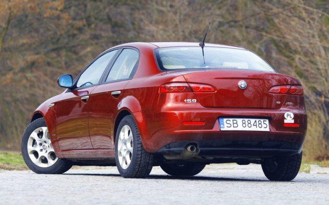 Alfa Romeo 159 - tył