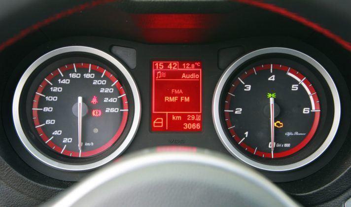 Alfa Romeo 159 - zegary