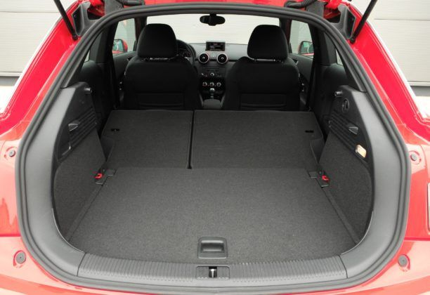 Audi A1 - bagażnik