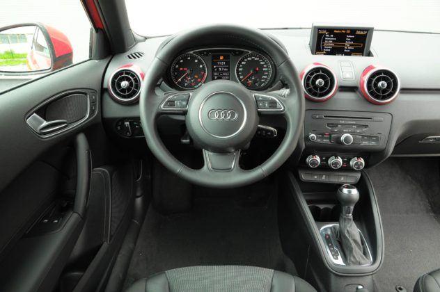 Audi A1 - deska rozdzielcza