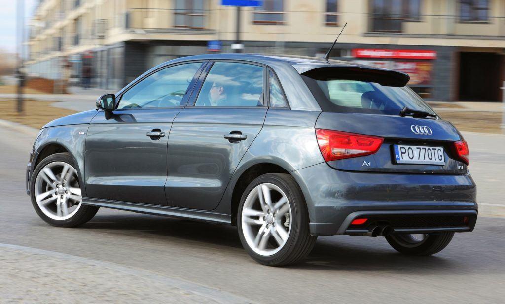 Audi A1 - dynamiczne