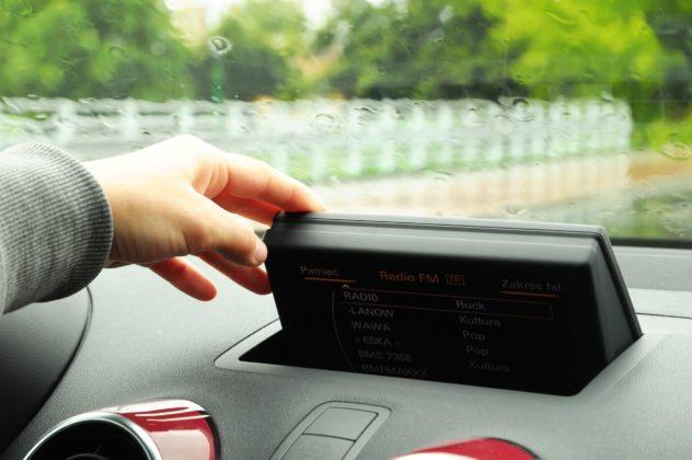 Audi A1 - ekran