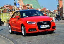 Audi A1 - otwierające