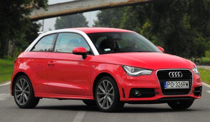 Audi A1 - przód