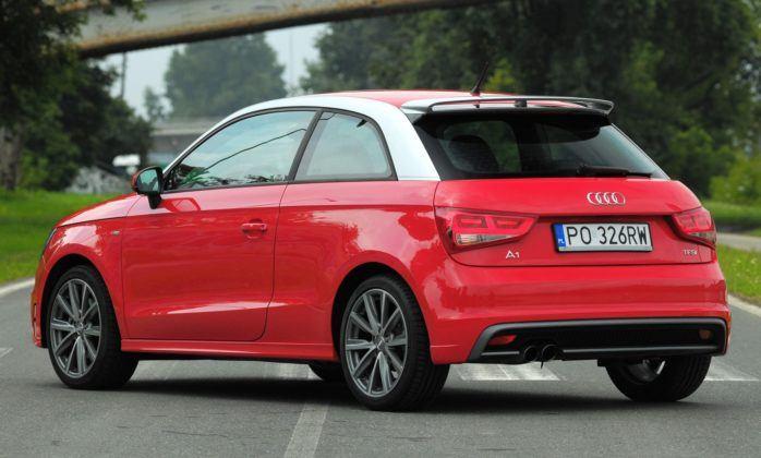 Audi A1 - tył