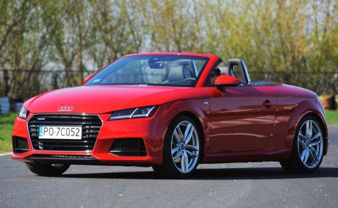 Auta sportowe - najlepszy - Audi TT 2.0 TDI