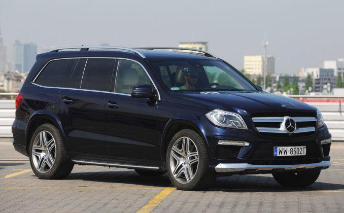 Duże SUV-y - najgorszy - Mercedes GL