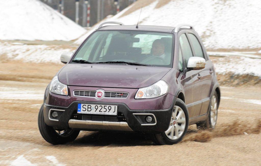 Fiat Sedici - dynamiczne