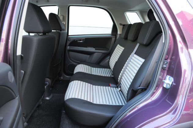 Fiat Sedici - kanapa
